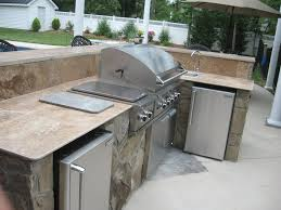kitchen countertop best material for kitchen countertops patio cooking area backyard kitchen ideas from outdoor