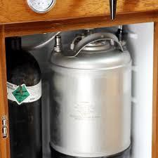 all in one countertop nitro coffee fridge keg