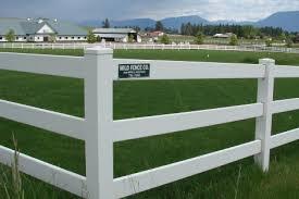 white wire garden fence. Three-rail White Vinyl Fencing. Wire Garden Fence