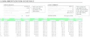 Loan Excel Template Loan Analysis Template To Help In Financial