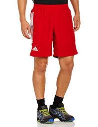 adidas 88387 shorts. adidas men\u0027s shorts red university / dark orange size:4 88387