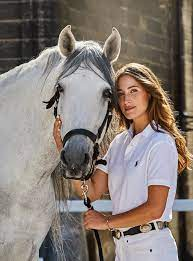 In the saddle with Jessica Springsteen ...