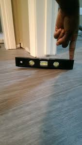 we be concerned about vinyl plank installed over uneven floors how to install vinyl plank flooring on concrete