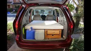 Convert your Minivan into a Camper within few minutes / Part 1 ...