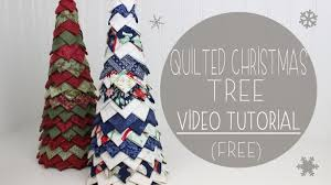 No Sew Quilted Christmas Tree | Craftsy &  Adamdwight.com