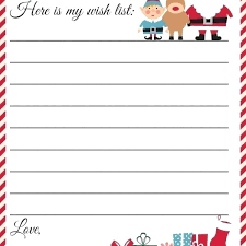 Free Letter From Santa Word Template Letters From Templates Free Printable Paper Letter To
