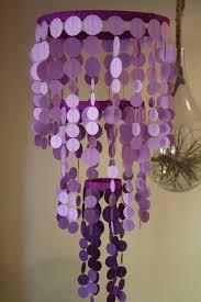 25 best ideas about purple chandelier on purple glass inside paper chandelier party