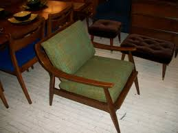 Mid century lounge chair design