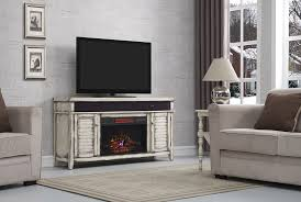 simmons infrared electric fireplace entertainment center in country white 26mms8529 t478