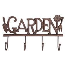 garden hooks. Cast Iron Garden Wall Hooks N