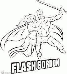 Kleurplaten Flash Gordon Kleurplaten Kleurplaatnl