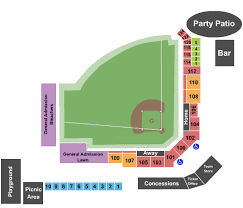 Carshield Field Seating Charts For All 2019 Events