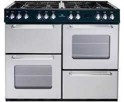 Newworld Gas Range Cooker Silver