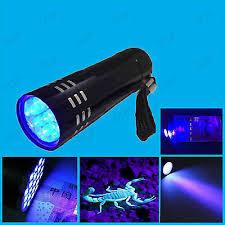 led uv torch ultra violet black light