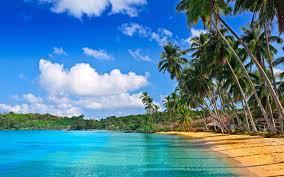 Tropical Beach Landscape Wallpapers ...