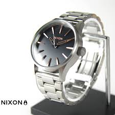 raiders rakuten global market nixon watch sentry 38 ss grey nixon watch sentry 38 ss grey rose gold nixon the sentry 38 ss gray