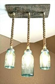 how to make mason jar lights mason jar light fixture how to make a mason jar