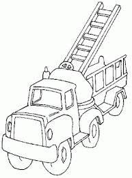Disegni Da Colorare Per Bambin Camion Pompieri Scala Disegni Da