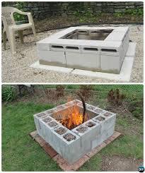 fresh outdoor fire pit best 25 fire pit ideas on diy firepit