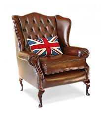 leather chesterfield chair. Classic Wing Handmade English Leather Chesterfield Chair A
