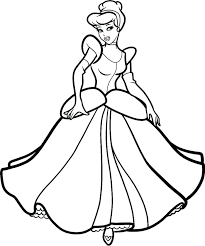 Excellent Dress Coloring Page Wedding Dresses Coloring Es Jasmine In