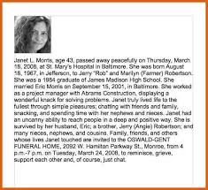 sample of obituary sample obituary for mother apa examples
