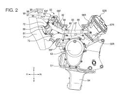 Honda v4 engine patent 05