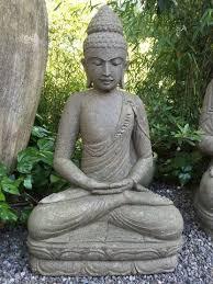 garden buddha. Stone Meditating Garden Buddha 36\ D