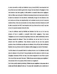 case study hunter area health service anor v presland  tort essay