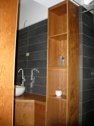 Arredo bagno in ciliegio falegnameria frialdi