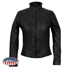 hot leathers usa made las clean cut leather jacket