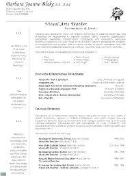 Teaching Resume Template College Instructor Resume Sample Teaching ...