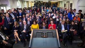 Sarah Sanders press briefing on Trump Jr Meeting with Russian.