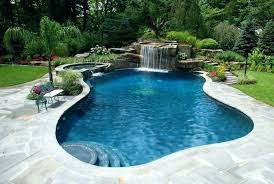 inground pools with waterfalls. Inground Pool Waterfalls Pools With Design Ideas Lovely Photo Gallery Spas Outdoor