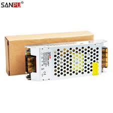 sanpu power supply 12 volt 5amp 60 watt led driver 12vdc ac dc lighting transformer