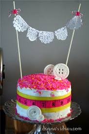 Decorating With Sprinkles How To Make An Easy Lalaloopsy Cake Or Sewing Party Cake With