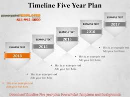 5 year timeline template download timeline five year plan powerpoint templates and backgrou