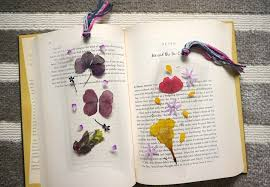 Flower Pressed Paper Diy Pressed Flower Laminated Bookmarks How To Make A