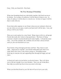 the best friendship essay ideas tree essay  what it means to be a good friend essay experts opinions