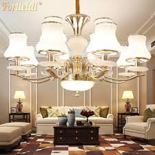 fort reti package installed all house lighting package combination european living room chandelier bedroom ceiling lamp three rooms two rooms modern simple