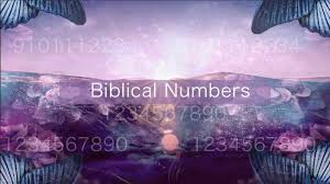 Bible Numerics Chart The Biblical Meaning Of Numbers Interpret Now Auntyflo Com
