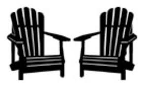 adirondack chair silhouette. Perfect Silhouette Adirondack Chair Silhouette Clipart 1 With 1