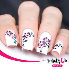 Whats Up Nails / Orchid Stencils by Solo_Nails – Daily Charme