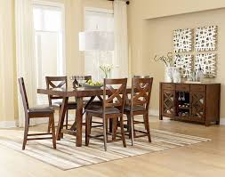 arlington round sienna pedestal dining room table w chestnut finish. darby home co ophelia counter height extendable dining table arlington round sienna pedestal room w chestnut finish