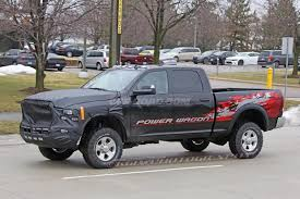 2018 dodge power wagon. brilliant dodge the prototype test truck captured here shows a ram power wagon testings its  revised frontend on public roads albeit still covered to some degree on 2018 dodge power wagon m