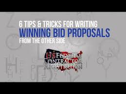 Contract Bid Proposal Federal Proposal Writing Us Federal Contractor Registration