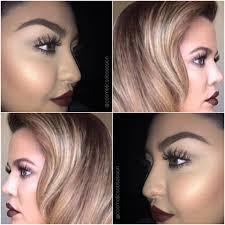 khloe kardashian inspired makeup