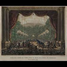 Orgie des Gardes du Corps dans la salle de l'Opéra de Versailles, le 1er  octobre 1789 - 2011060235 - Expertissim