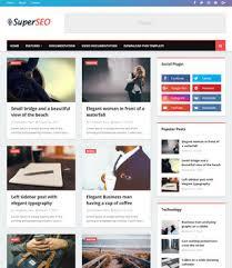 Super Seo Optimised Blogger Template Blogspot Templates 2019