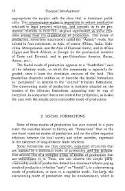 amin s unequal development an essay on the social formations   11 16 unequal development appropriates